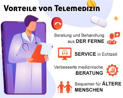 Telemedizin und ihre Vorteile