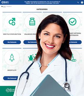 Gesundheit Service Kategorien